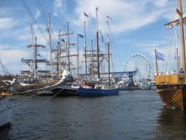 Rostock, Segelboot, Urlaub